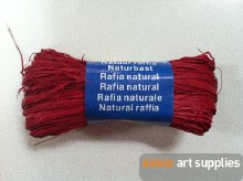 Maildor Natural Raffia Red