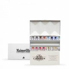 MaimeriBlu Metal Box of 16 Halp Pans