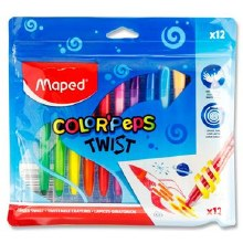 Maped Color'peps Twistables12*