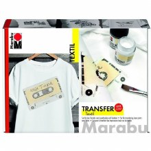 MARABU TEXTILE TRANSFER SET