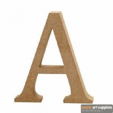 MDF Letter 13cm - A