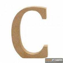 MDF Letter 13cm - C