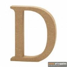 MDF Letter 13cm - D