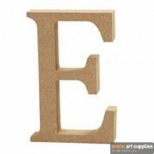 MDF Letter 13cm - E
