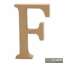 MDF Letter 13cm - F