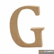 MDF Letter 13cm - G