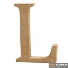 MDF Letter 13cm - L