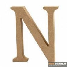 MDF Letter 13cm - N