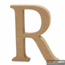 MDF Letter 13cm - R