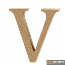 MDF Letter 13cm - V