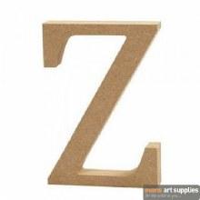 MDF Letter 13cm - Z
