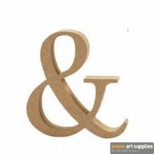 MDF Symbol 13cm - &