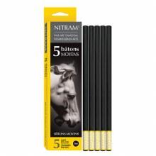 Nitram Bâtons Moyens 8mm 5s