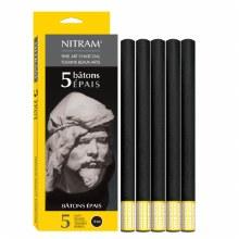 Nitram Bâtons Épais 12mm 5s
