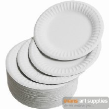 "Paper Plates 9"""