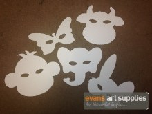 Paperpick Plain Animal Mask 10