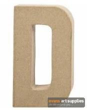 Papier Mache Large Letter D