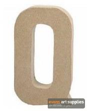 Papier Mache Large Letter Q