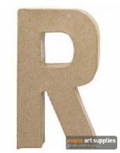 Papier Mache Large Letter R