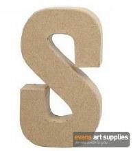 Papier Mache Large Letter S