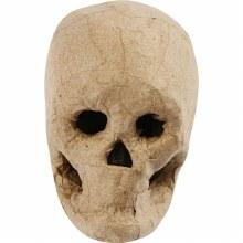 Papier Mache Skull 10cm
