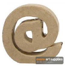 Papier Mache Small Sign @