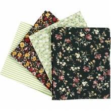 Patchwork Fabric Ass Green