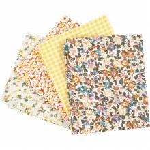 Patchwork Fabric Ass Yellow