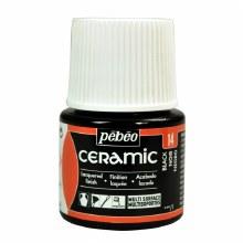Pebeo Ceramic 45ml Black