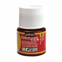Pebeo Porcelaine 150 - Ruby Red 45ml
