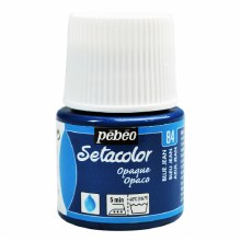 Pebeo Setacolor Opaque Matt - Blue Jeans 45ml