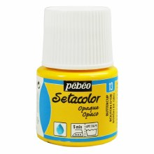 Pebeo Setacolor Opaque Matt - Buttercup 45ml