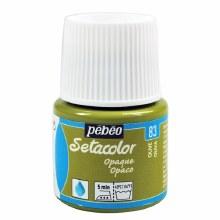 Pebeo Setacolor Opaque Matt - Olive 45ml