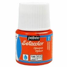 Pebeo Setacolor Opaque Matt - Orange 45ml