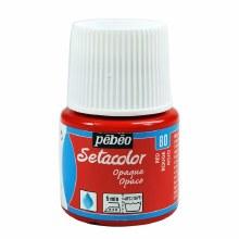 Pebeo Setacolor Opaque Matt - Red 45ml