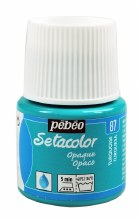Pebeo Setacolor Opaque Matt - Turquoise 45ml