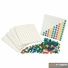 Pegboard & Colour Pegs Set