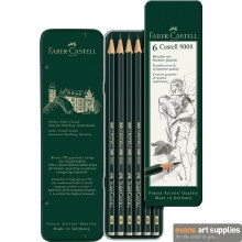 PENCIL CASTELL 9000 Tin 6s