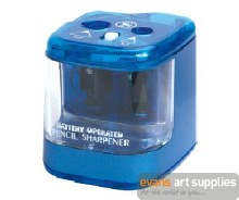 Pencil sharpener double hole b