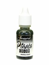 Pinata Alcohol Ink Mantilla Black