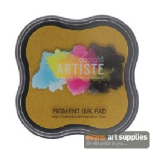 Pigment Ink Pad Dark Yellow*