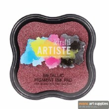 Pigment Ink Pad Metallic Berry