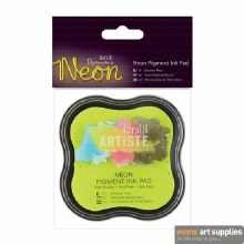 Pigment Ink Pad Neon Yellow*