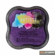 Pigment Ink Pad Pearles Violet