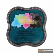 Pigment Ink Pad Pearlesce Aqua