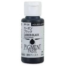 Holbein 35ml Pigment Paste Carbon Black