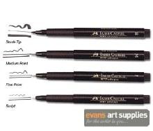 PITT Artist Pen F Black 199