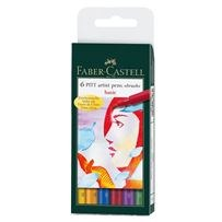 PITT Artist Pen Set Basic 6