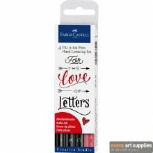 PITT Artist Pen Set Letter 4