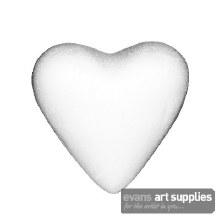 Polystyrene Hearts 5cm 10s